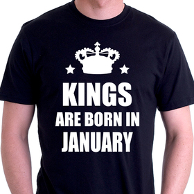 Kings are born in January