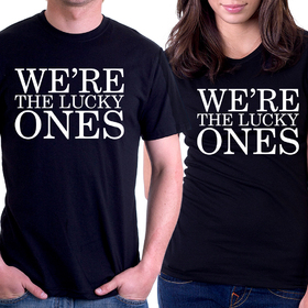 Couples t shirts - We are the lucky ones 2