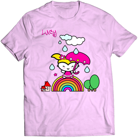 Printed t-shirt - Little Lucy